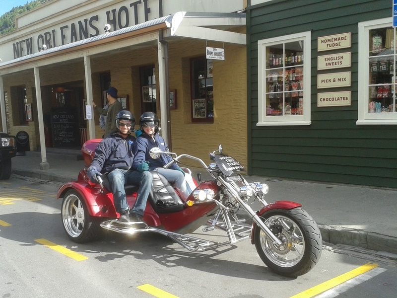 Wanaka Trike Tours on Arrowtown Loop